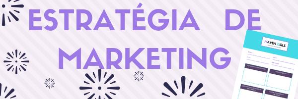 Exercício de Estratégia de Marketing!
